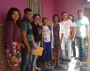 EQUIPE DO NASF, PSF 1, PSF 3 , CRAS E CREAS EM VISITAS DOMICILIARES.
