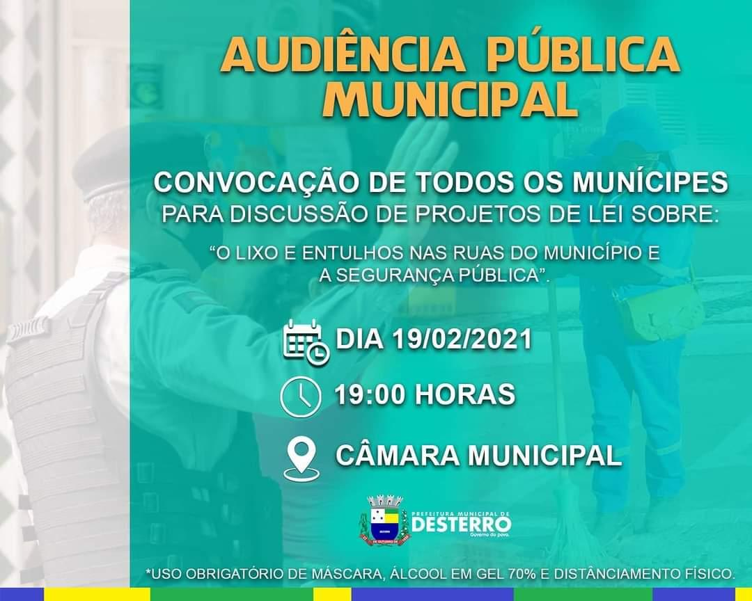 Audiência Pública Municipal