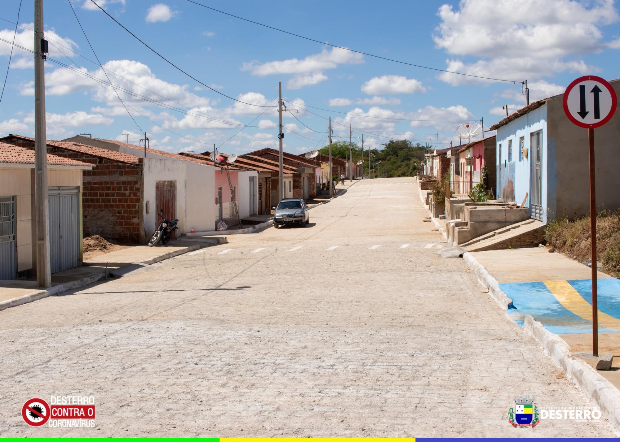 Conclusão da pavimentação da rua Maria Euseni Araújo!