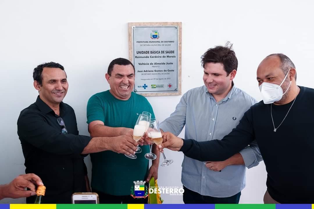 Inauguração UBS Raimunda Cordeiro de Morais