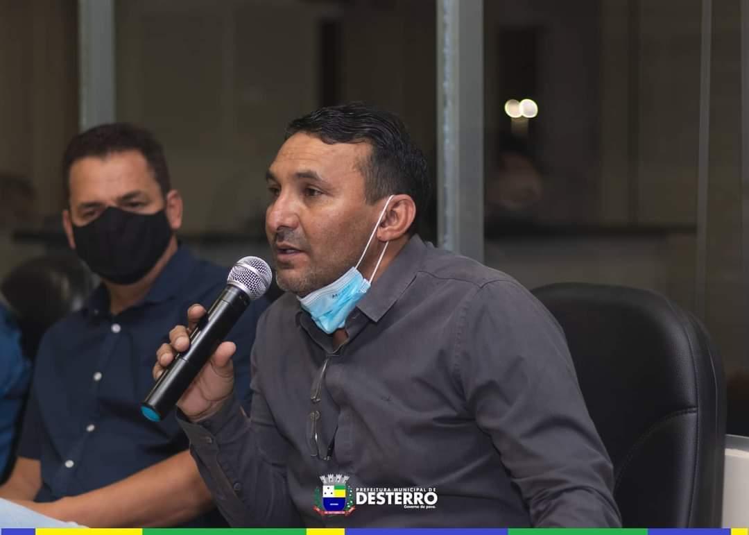 Município de Desterro promove audiência pública municipal para debater a segurança do municípios e o depósito de lixo e entulhos nas ruas da cidade.