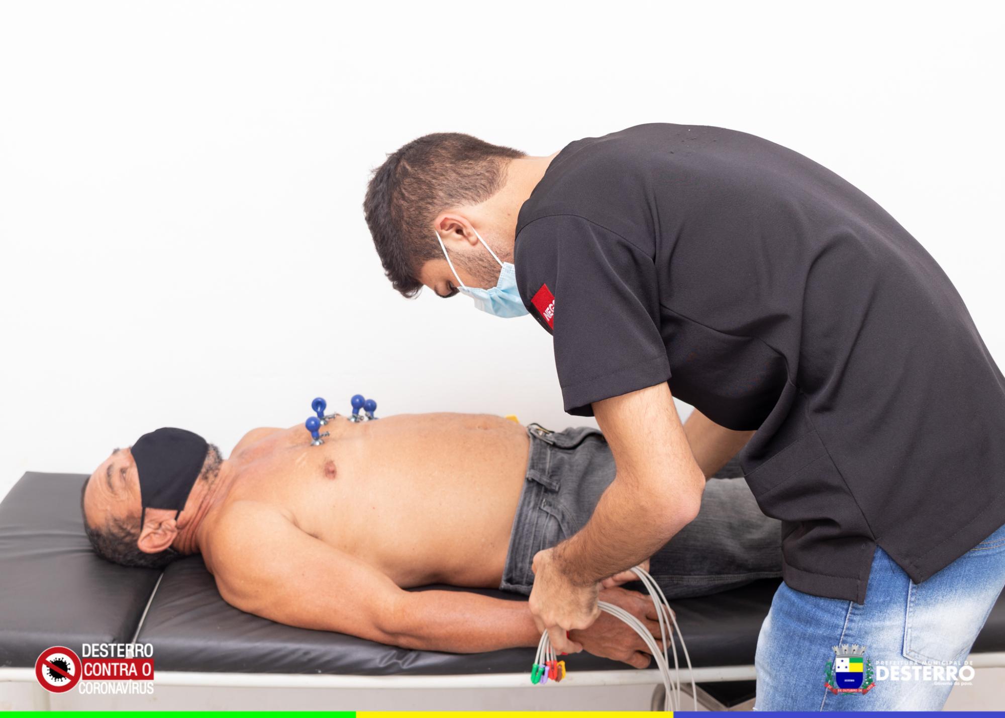Prefeitura de Desterro dá início ao retorno gradual das consultas cardiológicas e exames eletrocardiogramas