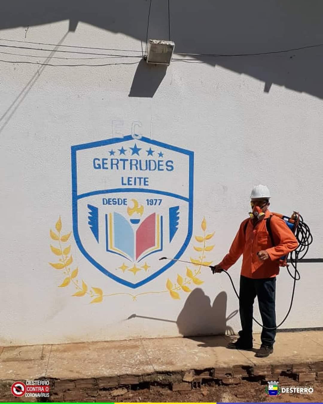 Prefeitura de Desterro promove nova etapa de sanitização de pontos...