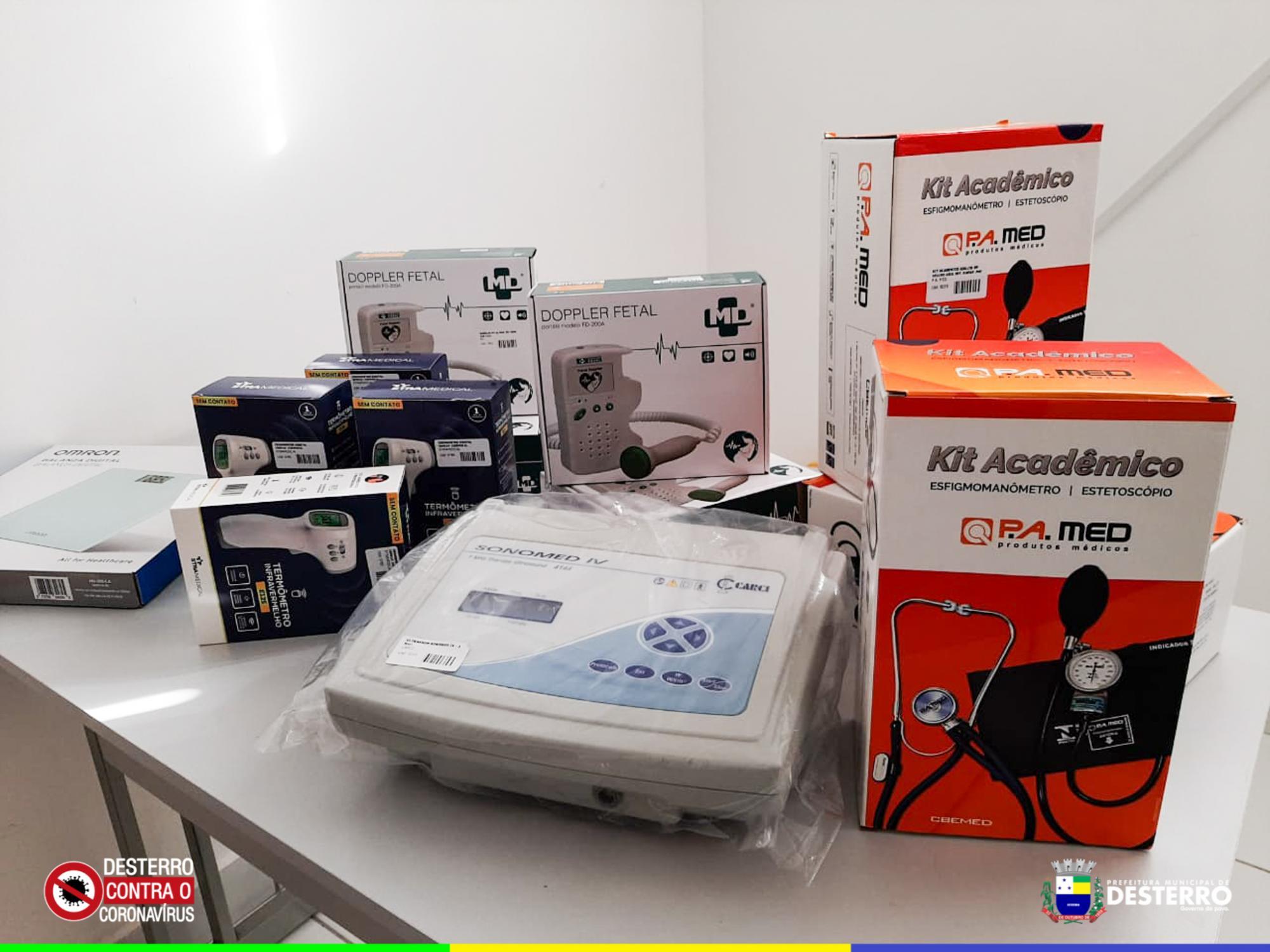 Prefeitura municipal de Desterro adquire novos equipamentos para as UBS'S...