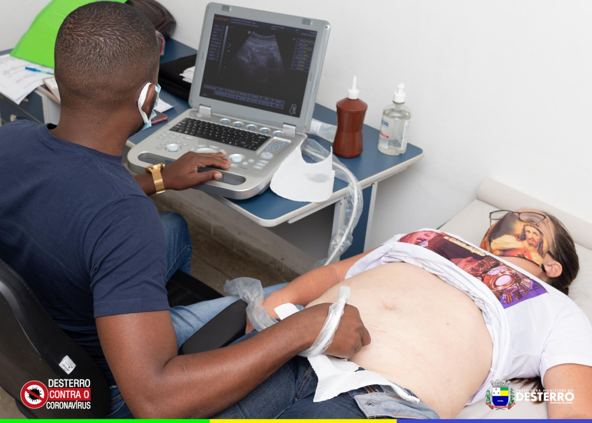 Secretaria municipal de saúde inicia de forma gradual a realização de exames de ultrassonografia começam