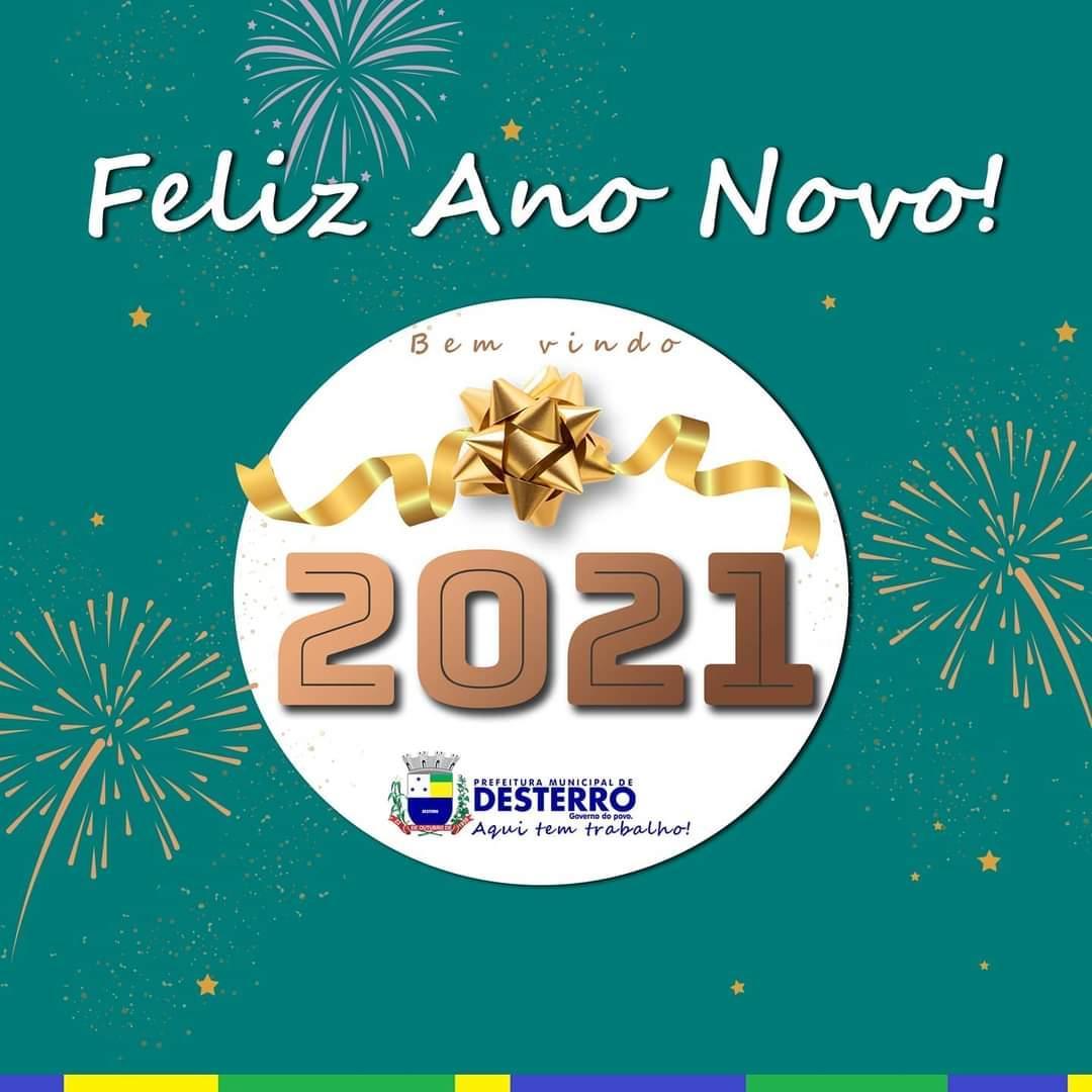 Um feliz 2021 Desterro!
